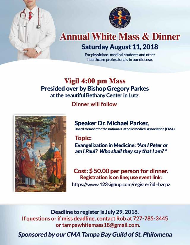 WhiteMass dinner 2018 flyer